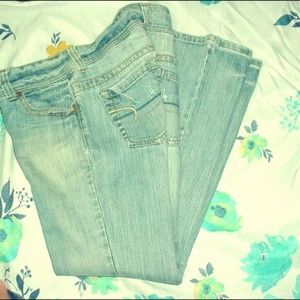 AMERICAN EAGLE Artist Stretch Jeans Size 8S